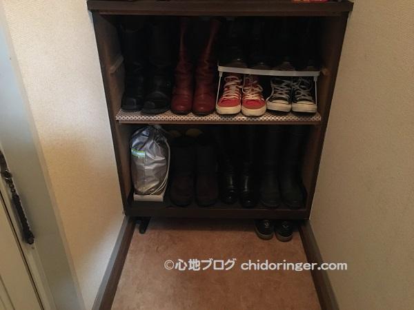 賃貸アパートの靴箱